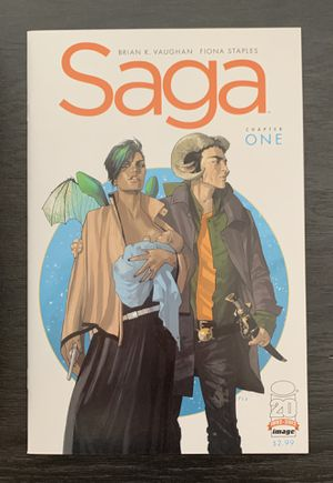 Saga #1 & #2 - Both 1st Print - Both NM+ Image Comics for Sale in Scottsdale, AZ