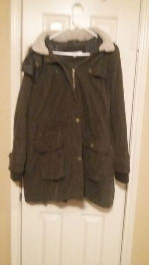 Men's DKNY Faux Fur Hooded Parka for Sale in Houston, TX