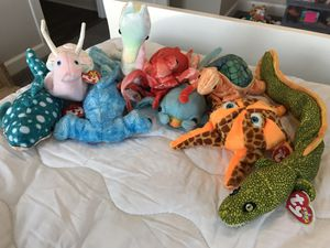 Under the Sea Animals Beanie Babies for Sale in Norfolk, VA