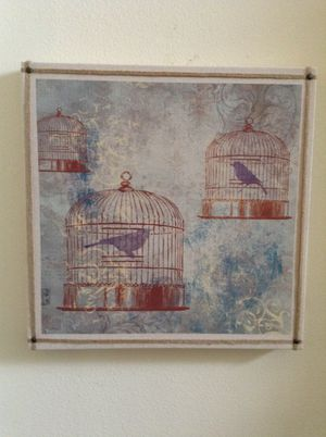 Vintage Inspired Bird Cage Wall Decor for Sale in Kissimmee, FL