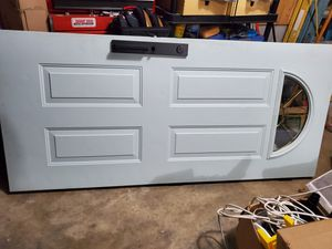 Exterior Door with Deadbolt Hardware and Handle for Sale in Seattle, WA