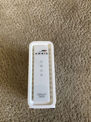 Arris Surfboard Cable Modem for Sale in Dallas, TX