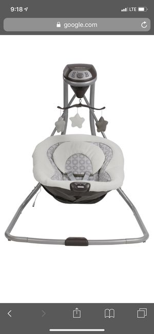 Graco Simple Sway Baby Swing for Sale in Gilbertsville, PA
