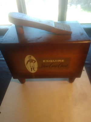 Esquire shoe care chest for Sale in Oroville, CA