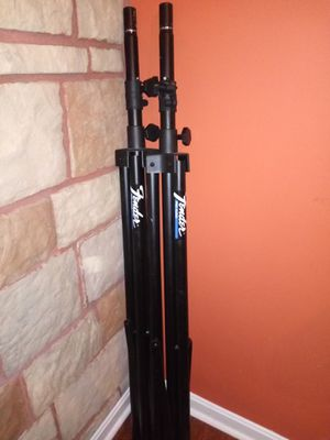 Fender pro Audio speaker stands for Sale in Winston-Salem, NC