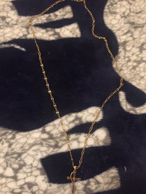 10kt Gold chain n charm for Sale in North Little Rock, AR