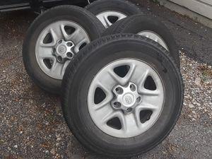 toyota Tundra rim n tires for Sale in Dallas, TX