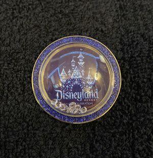 Disney Pin #209, Disneyland Resort, 60th Anniversary, Diamond Celebration Castle Globe with Diamonds (inside) for Sale in San Diego, CA