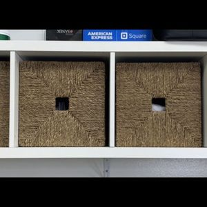 IKEA Shelf With Boxes for Sale in Houston, TX