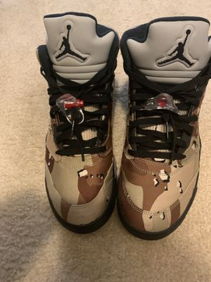 Jordan 5 camo supreme size 11 for Sale in Upper Marlboro, MD