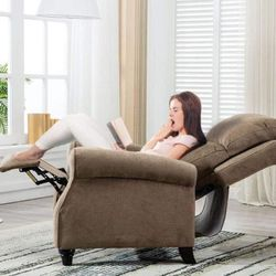 New Brown Manual Recliner for Sale in Los Angeles,  CA