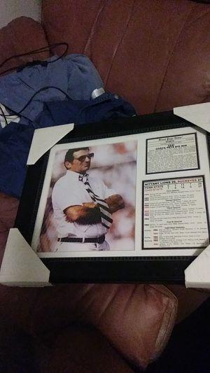 Joe Paterno plaque for Sale in Philadelphia, PA