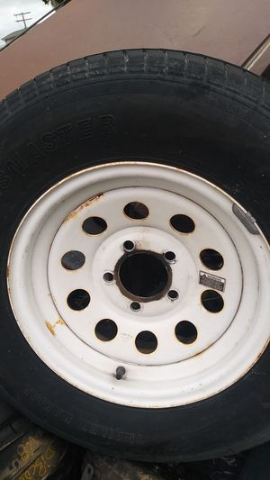 Trailer or Tow Dolly tires( set of 2) 205/75/R14 forsale $70 for Sale in Anaheim, CA