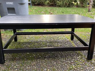 Black Wooden Coffee Table for Sale in Renton,  WA
