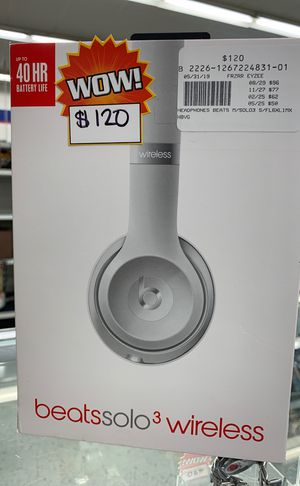 Beats Solo3 Wirelles for Sale in Houston, TX