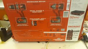 Milwaukee red lithium CP 2.0 for Sale in Orlando, FL