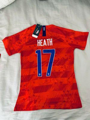 Men & Women 2019 NIKE TOBIN HEATH #17 World Cup USA Team Soccer Jersey for Sale in Lubbock, TX