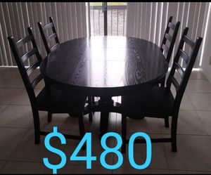 Crate and Barrel Dining Table and chairs for Sale in Boca Raton, FL