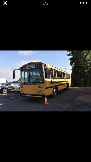 2001 Thomas School Bus for Sale in MONTGOMRY VLG, MD