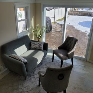 Small Gray Couch Set for Sale in New Britain, CT