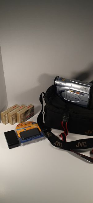 JVC GR-SXM265U VHS-C Bundle for Sale in Charlotte, NC