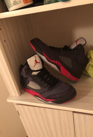 Blacc Jordan Retro 5's for Sale in Salt Lake City, UT