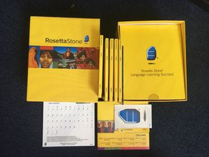 Italian (Rosetta Stone) for Sale in Arlington, MA