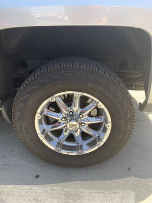 """18"""" XD Series Chrome Rims with Tires for Sale in Las Vegas, NV"""