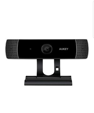 AUKEY FHD Webcam, 1080p Live Streaming Camera with Stereo Microphone for Sale in El Monte, CA