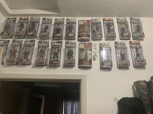 walking dead collection figures for Sale in Sacramento, CA