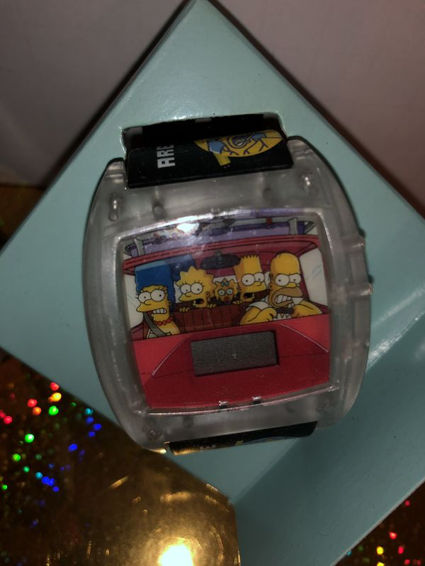 The Simpson wrist watch Family Drive