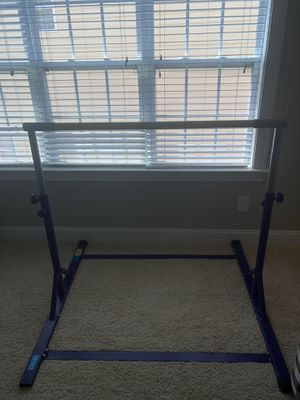 Z-Athletic gymnastics expandable kids bar for Sale in Cary, NC