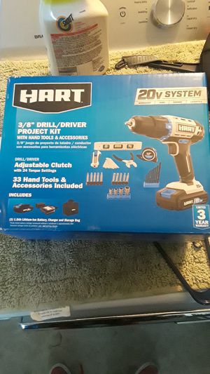Hart drill set and 2 batteries for Sale in Port Hueneme, CA
