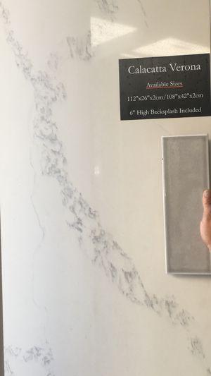 MSI brand - Calacatta Verona Quartz for Sale in Los Angeles, CA