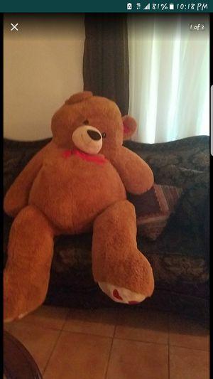 Big stuffed teddy bear for Sale in Las Vegas, NV