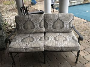Cast iron outdoor furniture for Sale in Centreville, VA