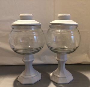 Silver Chalk Paint Mason Jars Set for Sale in Riverton, UT