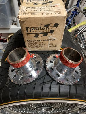 Dayton Wire Wheels Rims Donk Parts Adapters for Sale in Lake Worth, FL