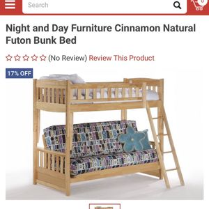 Bunk bed with futon sofa or full size bed on the bottom for Sale in Oakland, CA