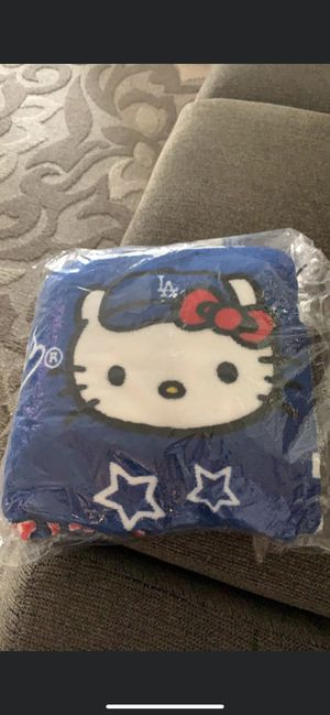 Dodger Hello Kitty Blanket for Sale in Whittier, CA