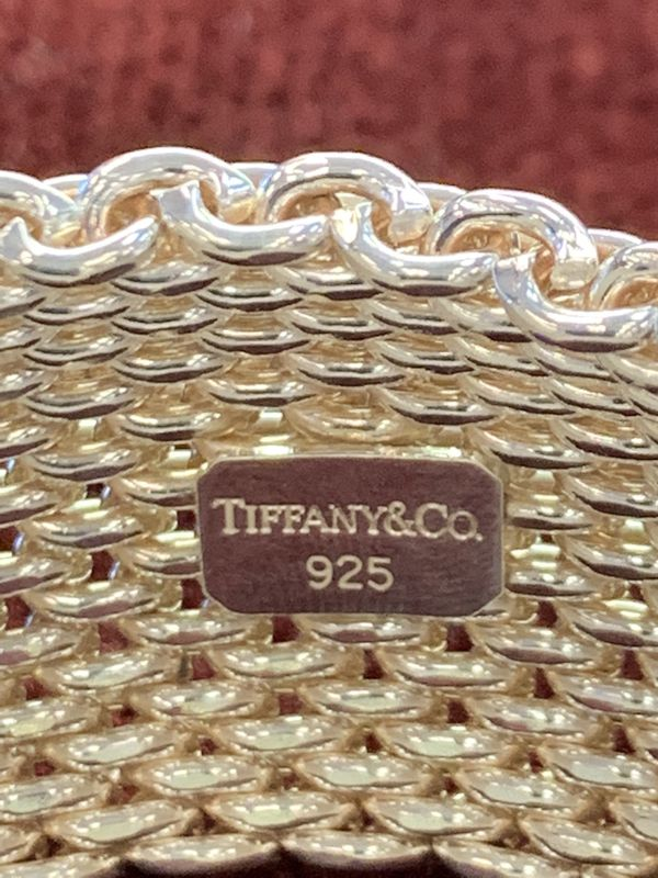 Tiffany & Co. Mesh Copa Bracelet 925