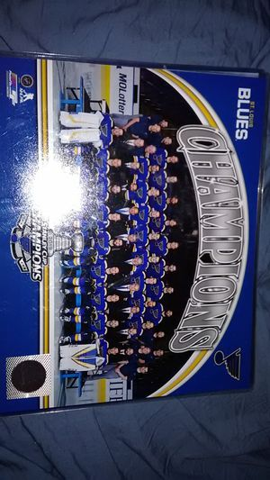 ST. LOUIS BLUES STANLEY CUP 2019 WINNING TEAM PHOTO for Sale in Langhorne, PA