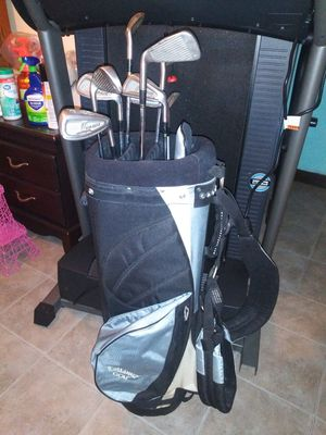 Callaway golf bag no legs. Price for bag only. Top lite golf clubs 10 each. for Sale in Addison, IL