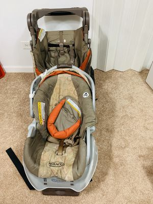 Stroller with baby car seat for Sale in Addison, IL