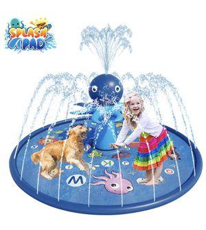 "Blasland Sprinkler for Kids - Octopus Sprinkler Splash Mat 67"", Kids Pool, Outdoor Lawn Water Toys, Splash Pad, Wading Swimming Pool, Inflatable Spla for Sale in Los Angeles, CA"