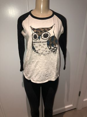 $1 Owl Graphic Baseball Tee for Sale in Staten Island, NY