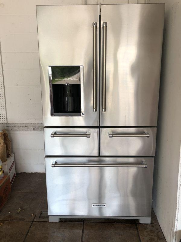 2018 KitchenAid French 5 door refrigerator