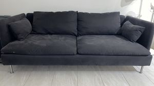 MUST GO Grey sofa couch Ikea for Sale in Miami, FL