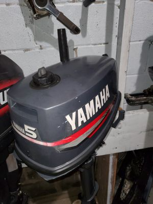 5hp yamaha outboard for Sale in Queens, NY
