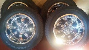 18 Inch Rims with New Tires for Sale in Cleveland, OH